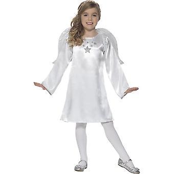 Angel Costume, Christmas Children's Fancy Dress, Medium Age 7-9