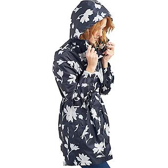 Joule Womens Golightly lungo impermeabile Pack Away cappotto