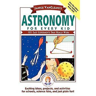 علم الفلك لكل طفل-101 والتجارب أن يعمل حقاً بالخامس جانيس