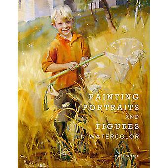 Картина Портреты и фигуры в акварели Мэри Уайт - 97808230