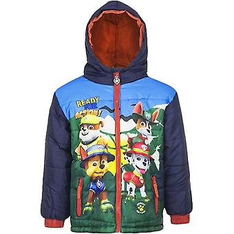 Jongens DHQ1029 Paw Patrol Winter Hooded Jacket / jas