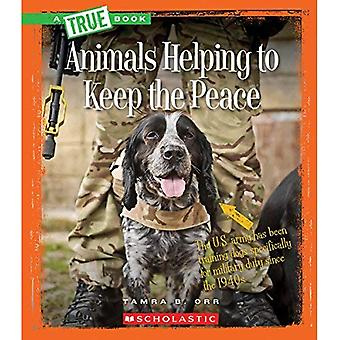 Animali, contribuendo a mantenere la pace (veri libri)