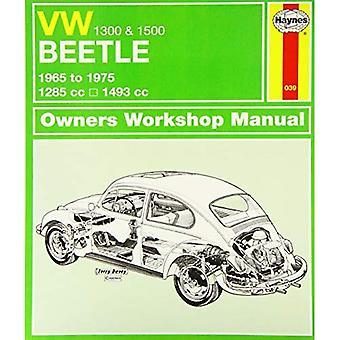 VW Beetle 1300/1500 Service et manuel de réparation (Haynes Service et manuels de réparation)