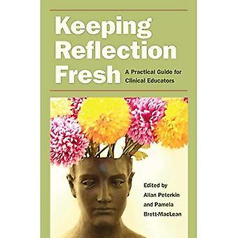 Att hålla reflektion färska: En praktisk vägledning för klinisk lärare (litteratur & medicin)