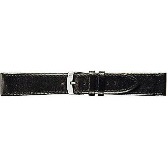 Morellato black leather strap 18 mm A01X3425695019CR20 unisex AGILA