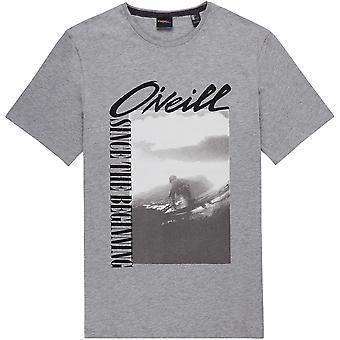 O'Neill Men's T-Shirt ~  Frame silver