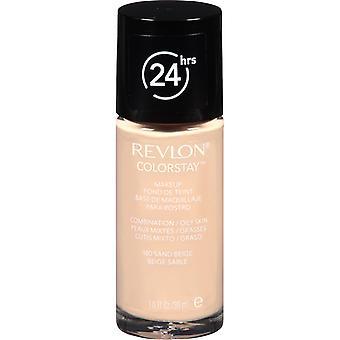 Revlon Colorstay meikki yhdistelmä/rasvainen iho-180 hiekka beige 30ml