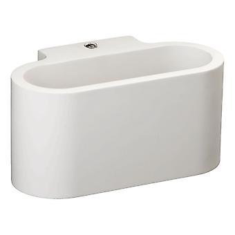 Glasberg - luz de parede única crescente branco 499021801