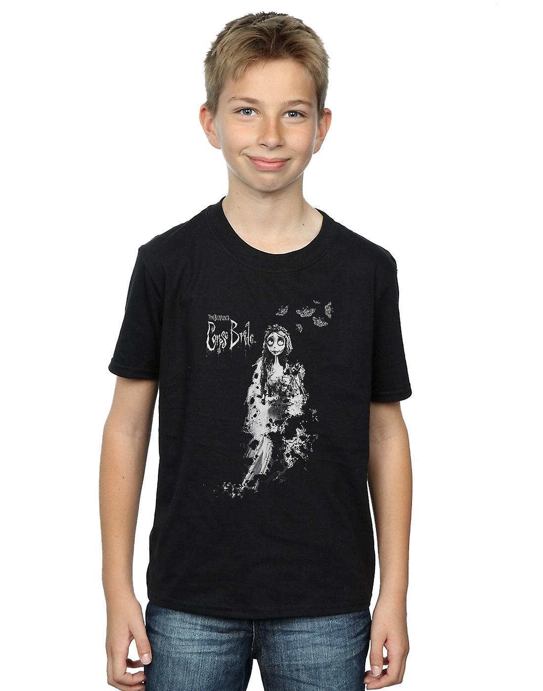 Corpse Bride Boys Distressed Bride T-Shirt