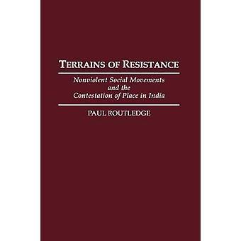 Gelände der Widerstand gewaltfreien sozialen Bewegungen und die Anfechtung der in Indien von Routledge & Paul
