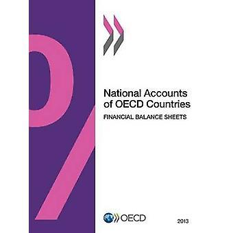Nationale rekeningen van OESO landen Volume financiële balansen 2013 door de organisatie voor economische samenwerking een