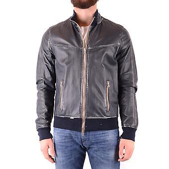 S.w.o.r.d 6.6.44 Ezbc197004 Men-apos;s Blue Leather Outerwear Jacket
