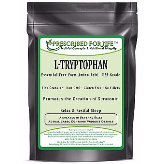 Tryptophan (L) - Essential Free Form Amino Acid Powder - Supports Sleep