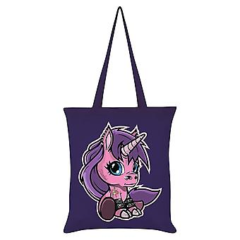 Grindstore Fearless The Baby Unicorn Tote Bag