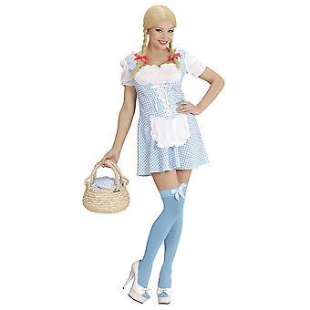 Miss Étouffet-bleu clair (robe)