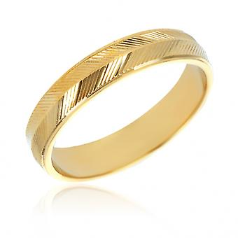 Diamond Alliance Gold Plated Ring