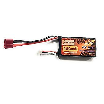 1500mAh 7.4V 45C 2S RC Lipo Batterie Hard Case With Dean T Plug For RC Model Boat Truck Buggy RC Car Truck RC Hobby