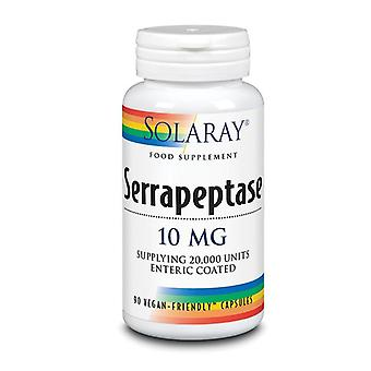 Solaray Serrapeptase 10mg Capsules 90 (14044)