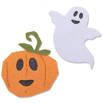 Sizzix Bigz Die Happy Halloween Set of 3 par Laura Kate