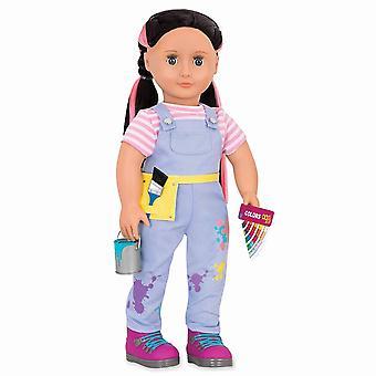 La nostra generazione bambola Ananda - falegname