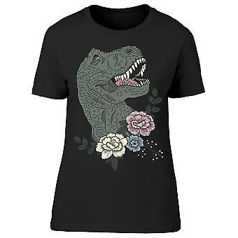 Dino Flower Tee Women-apos;s -Image par Shutterstock