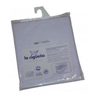 ラ Cigüeña ベッド マットレス プロテクター カール (繊維、子供のリネン)