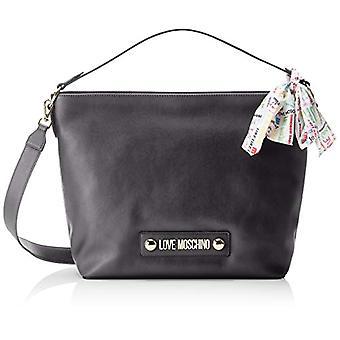 Love Moschino taske Soft grain pu hånd kvinder (sort) 12x31x43 cm (b x H x L)