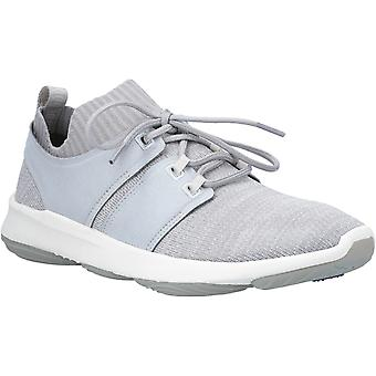 Hush Chiots Mens World BounceMax Lace Up Trainer Cool Grey Knit
