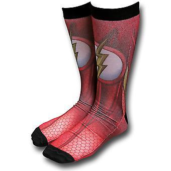 Flash Costume Calcetines Sublimados