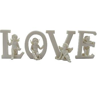 Cherubino lettere d'amore 4 pezzi