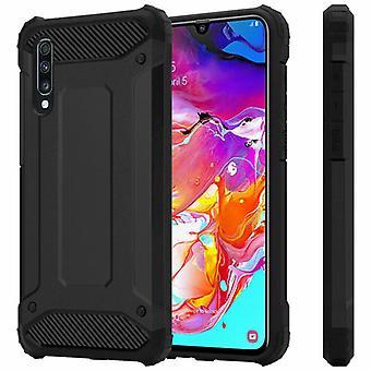 Hybrid rustning Shell TPU Samsung Galaxy A70 (SM-a705f)-sort