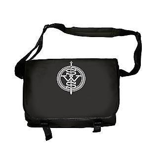Sleeping med sirener messenger bag band logo nye offisielle Black bag