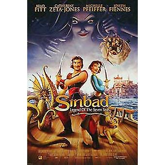 Sinbad: Legend Of The Seven Seas (Double Sided International) Original Cinema Poster