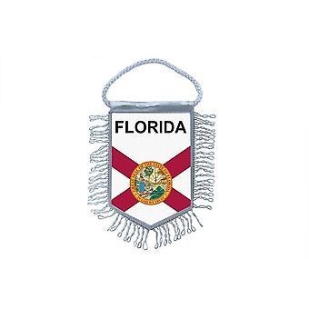 Sinalizar mini bandeira país carro decoração EUA EUA Flórida