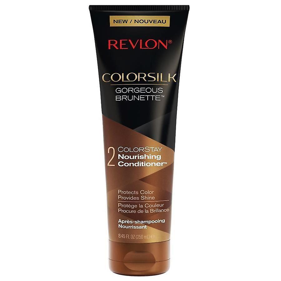 Revlon Colorsilk Gorgeous Brunette Colorstay Nourishing Conditioner 3-PACK