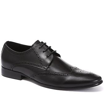 Wing-tip derby brogue shoes - reni