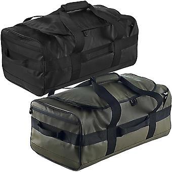 Caribee Unisex Titan 50L Zipped Travel Adjustable Strap Duffel Holdall Gear Bag