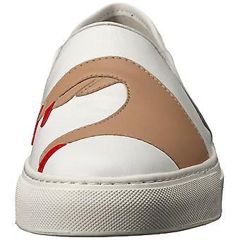 Katy Perry Womens the heart sneaker Leather Low Top Slip On Fashion Sneakers