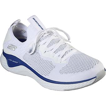 Skechers Mens Solar Fuse-Valedge Slip On Jogger Trainer with Lace