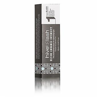 Hive lash & brow tint - black 20ml - new