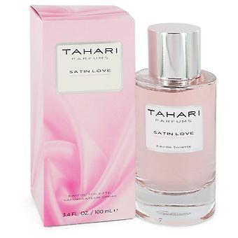 Satin Love Eau De Toilette Spray By Tahari Parfums   545556 100 ml