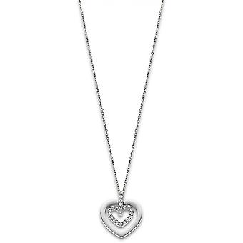 Necklace and pendant Lotus Style jewelry BLISS LS1867-1-1 - necklace and pendant BLISS steel woman