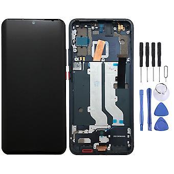 Für ZTE Axon 10 Pro OLED Display Full LCD Einheit Touch mit Rahmen Ersatzteil Reparatur Schwarz Neu
