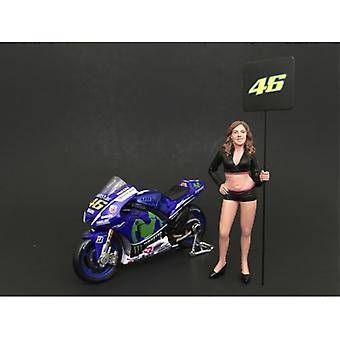 Paddock Mädchen Figur für 1:18 Maßstab Modelle von American Diorama
