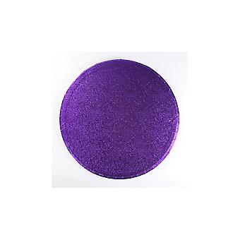 Culpitt 14'quot; (355mm) Cake Board Round Purple Pack Of 5