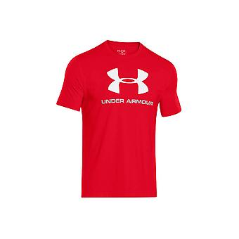 Under Armour CC Sportstyle Logo Tee 1257615-600 Mens T-shirt