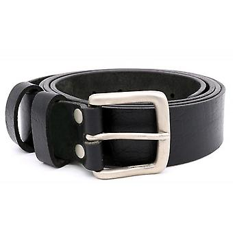 Ceinture en cuir Duke Mens Gavin Kingsize Square Buckle