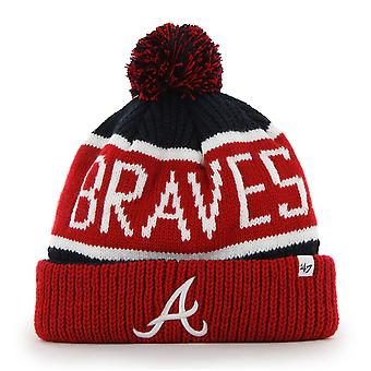47 Brand Knit Beanie - Calgary Atlanta Braves navy
