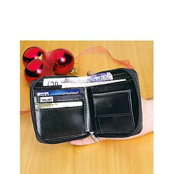 Chums Set Of 2 Real Leather Zip Wallets