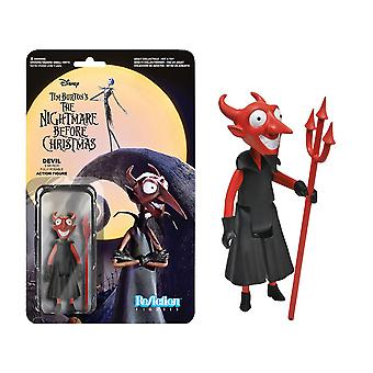 The Nightmare Before Christmas the Devil ReAction Figure